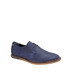 Frank Wright - Blue 'Burley' mens flat lace up shoes