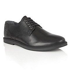 Frank Wright - Black Leather 'Alton' lace up mens shoes