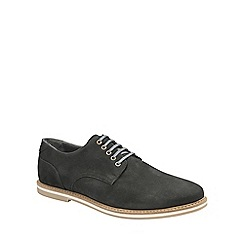 Frank Wright - Black 'Alton' mens lace up derby shoes