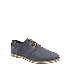 Frank Wright - Navy 'Alton' mens lace up derby shoes