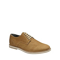 Frank Wright - Tobacco 'Alton' mens lace up derby shoes