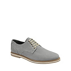 Frank Wright - Grey 'Alton' mens lace up derby shoes