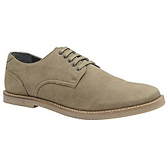Frank Wright - Almond 'Alton' men's lace up derby shoes