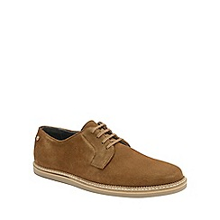 Frank Wright - Tobacco 'Turpin' mens lace up shoes