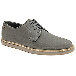 Frank Wright - Grey 'Turpin' mens lace up shoes