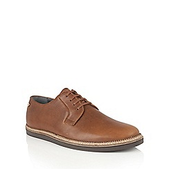 Frank Wright - Tan 'Turpin' mens lace up shoes