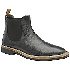 Frank Wright - Black 'Hazelburn' men's chelsea boots