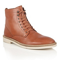 Frank Wright - Chestnut Leather 'Munros' mens lace up boots