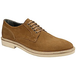 Frank Wright - Tobacco 'Banff' mens lace up derby shoes
