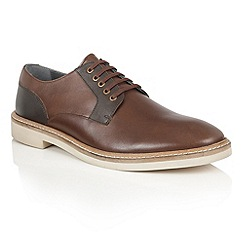 Frank Wright - Brown 'Banff' mens lace up shoes