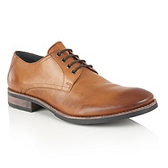 Frank Wright - Tan Leather 'Elm' mens lace up shoes