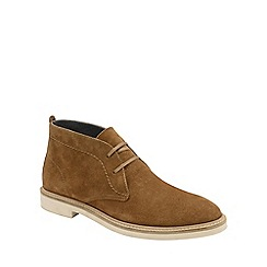 Frank Wright - Tobacco 'Bowmore' mens lace up derby boots