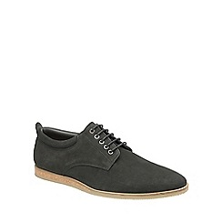 Frank Wright - Black 'Kane' mens lace up leather shoes