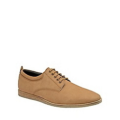 Frank Wright - Tan 'Kane' mens lace up leather shoes