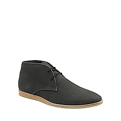 Frank Wright - Black 'Cuckoo' mens lace up ankle boots