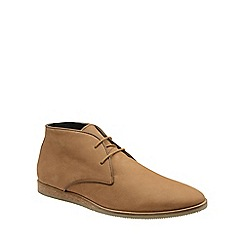 Frank Wright - Tan 'Cuckoo' mens lace up ankle boots