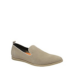 Frank Wright - Sand 'Alfredo' mens casual slip on loafers