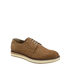 Frank Wright - Caramel 'Tom' mens lace up derby shoes
