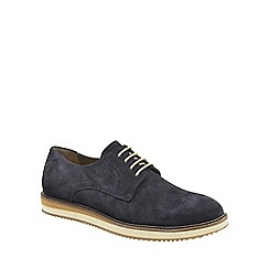 Frank Wright - Navy 'Tom' mens lace up derby shoes