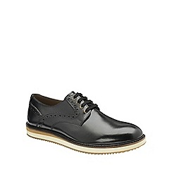 Frank Wright - Black 'Marvin' mens lace up derby shoes