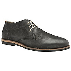 Frank Wright - Black 'Van' men's lace up derby shoes