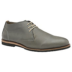 Frank Wright - Grey 'Van' men's lace up derby shoes