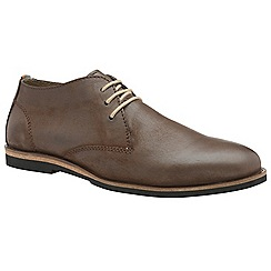 Frank Wright - Brown 'Van' men's lace up derby shoes