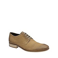 Frank Wright - Sand 'Muddy' mens lace up classic derby shoes