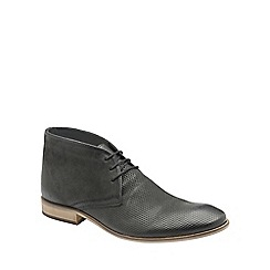 Frank Wright - Black 'Howlin' mens lace up ankle boots
