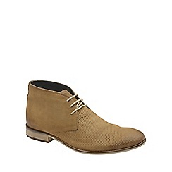 Frank Wright - Sand 'Howlin' mens lace up ankle boots