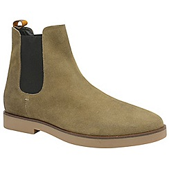 Frank Wright - Almond 'Dutch' men's casual chelsea boots