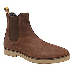 Frank Wright - Brunette 'Dutch' men's casual chelsea boots