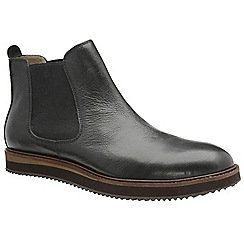 Frank Wright - Black 'Edwin' men's slip on chelsea boots