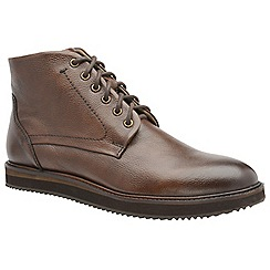 Frank Wright - Brown 'Duane' men's lace up derby boots