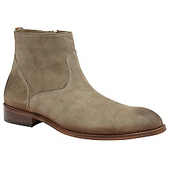 Frank Wright - Sand 'Hardin' men's slip on desert boots