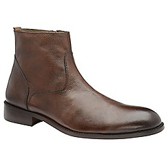 Frank Wright - Brown 'Hardin' men's slip on desert boots