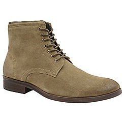 Frank Wright - Sand 'Clyde' men's lace up derby boots