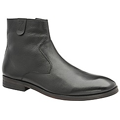 Frank Wright - Black 'Edison' men's slip on ankle boots