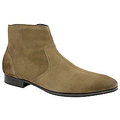 Frank Wright - Sahara 'Faraday' men's slip on desert boots