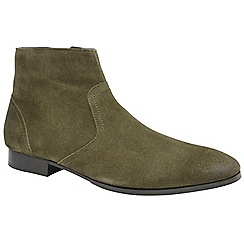 Frank Wright - Moss 'Faraday' men's slip on desert boots