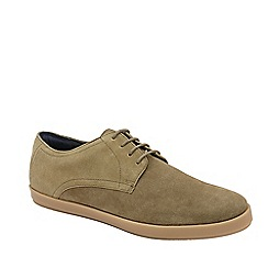 Frank Wright - Sand 'Chiefs' lace up derby shoes