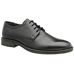 Frank Wright - Black 'Alder' men's lace up derby shoes