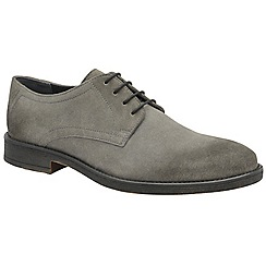 Frank Wright - Grey 'Alder' men's lace up derby shoes