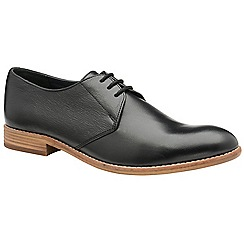 Frank Wright - Black 'Pitt' men's lace up derby shoes