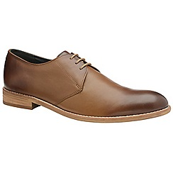 Frank Wright - Tan 'Pitt' men's lace up derby shoes