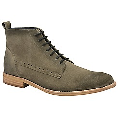 Frank Wright - Sand 'Eden' men's lace up derby boots