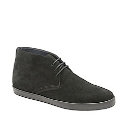 Frank Wright - Black 'Bronco' lace up casual boots