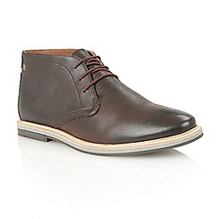 Frank Wright - Ox blood 'Barnet II' ankle boots