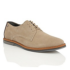 Frank Wright - Sand Suede 'Woking II' mens lace up shoes