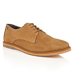 Frank Wright - Desert Leather 'Woking II' mens lace up shoes